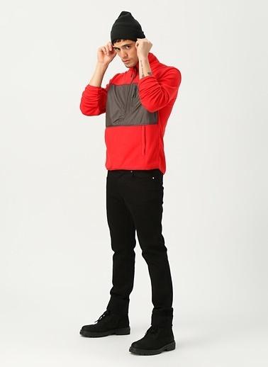 National Geographic Sweatshirt Kırmızı